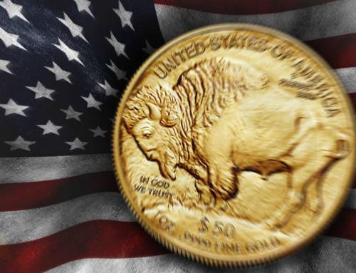 GOLD BUFFALO by the United States Mint
