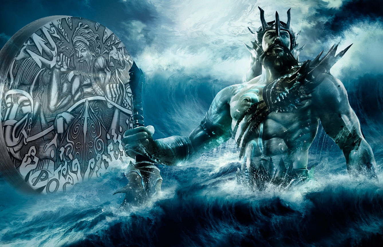 GODS OF OLYMPUS GOES AQUATIC WITH POSEIDON, SECOND OF ...