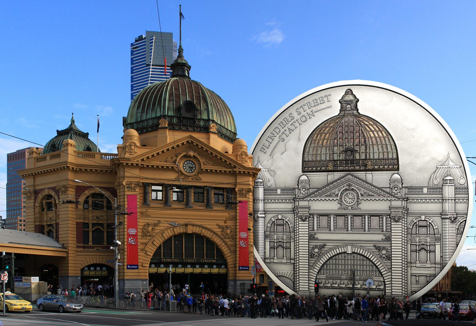 MELBOURNE MINT GOES HIGH-END WITH STRIKING ADDITION TO ARCHITECTURAL COIN GENRE