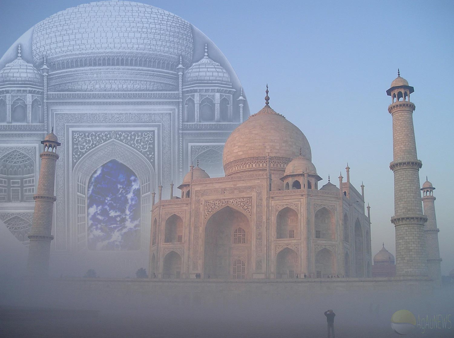 TIFFANY ART COMPETITION INTENSIFIES WITH A STUNNING SILVER KILO TAJ MAHAL COIN