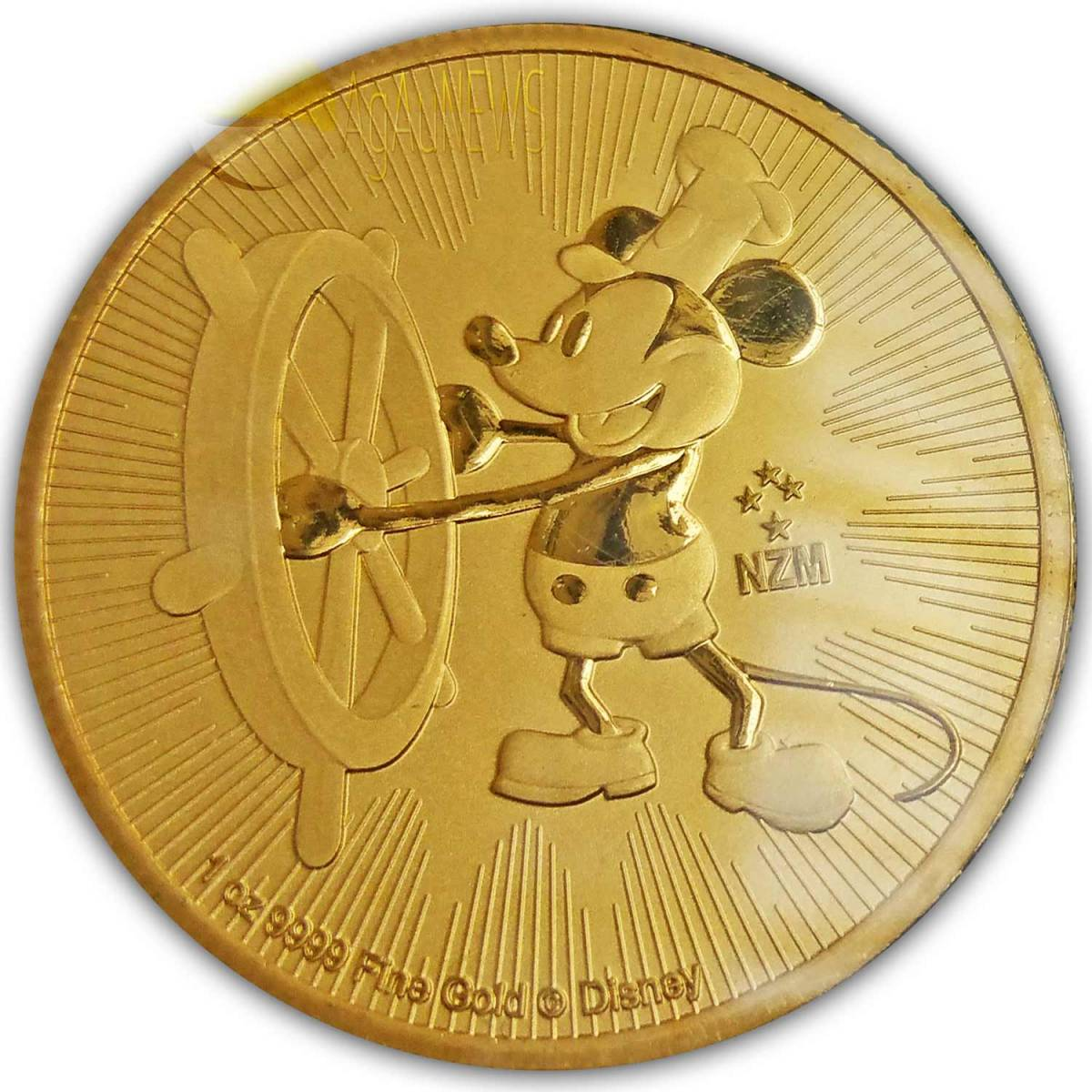 2017 steamboat willie coin