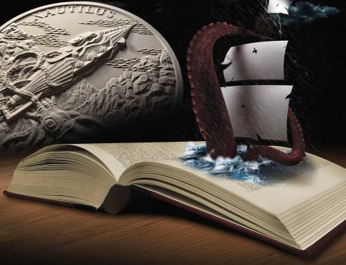 2018 FANTASTIC WORLDS OF JULES VERNE by Czech Mint
