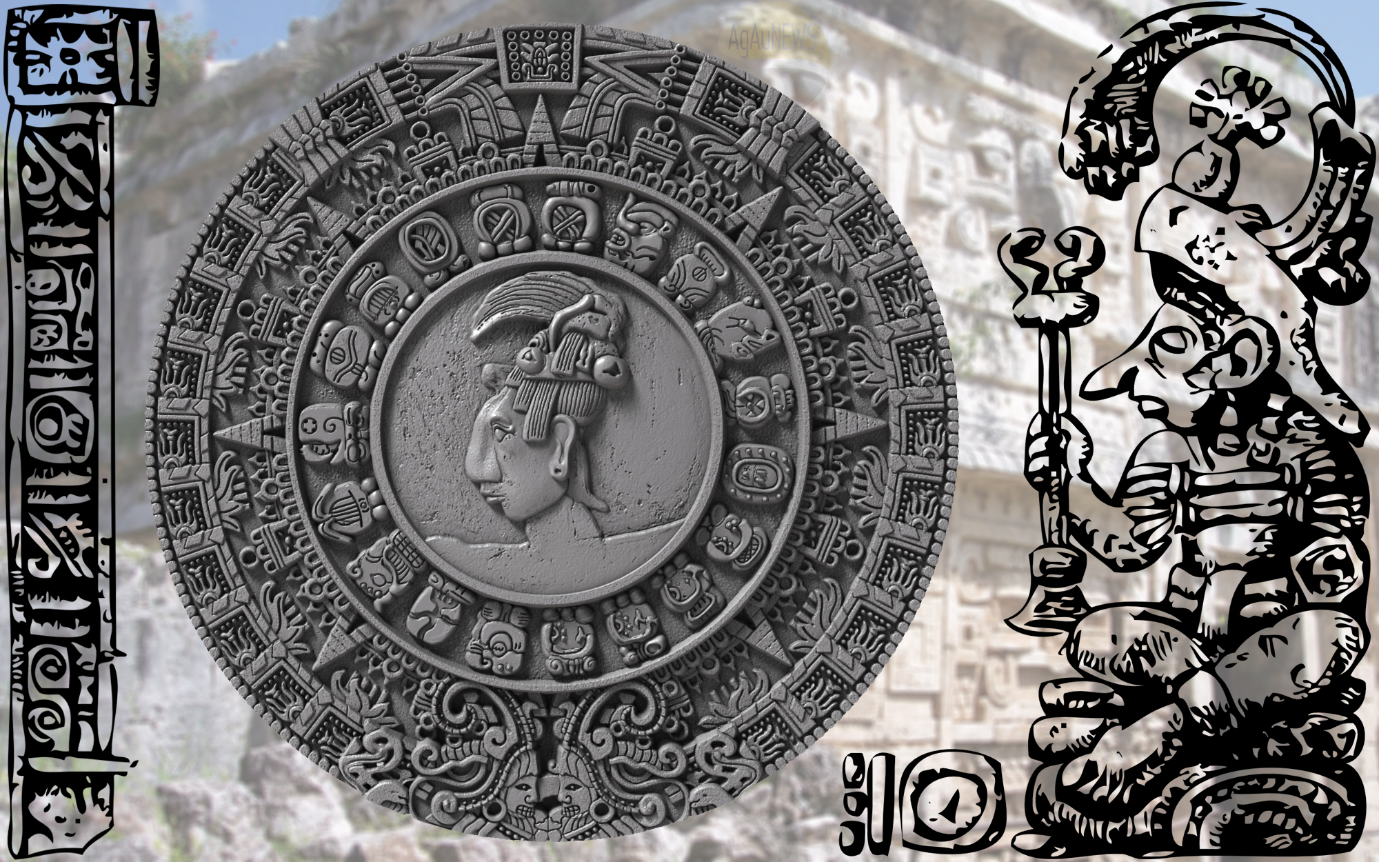 Exclusive First Look Mayan Calendar Features On The Mint