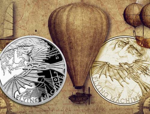 2019 INVENTIONS OF LEONARDO by the Czech Mint