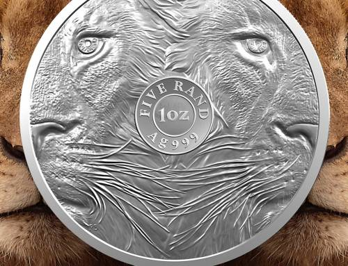 2019 AFRICAN BIG FIVE by the South African Mint