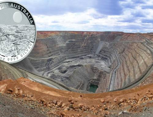 A big hole in Australia is the subject of the Perth Mint's latest bullion coin pair