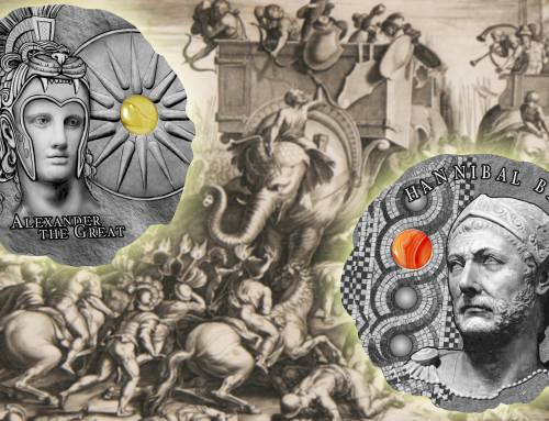 Hannibal and Alexander the Great launch the Mint of Poland's new ancient commanders series