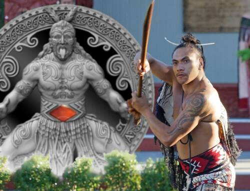 World Cultures silver coin series is back with a look at the Maori ceremonial challenge – the fabled Haka